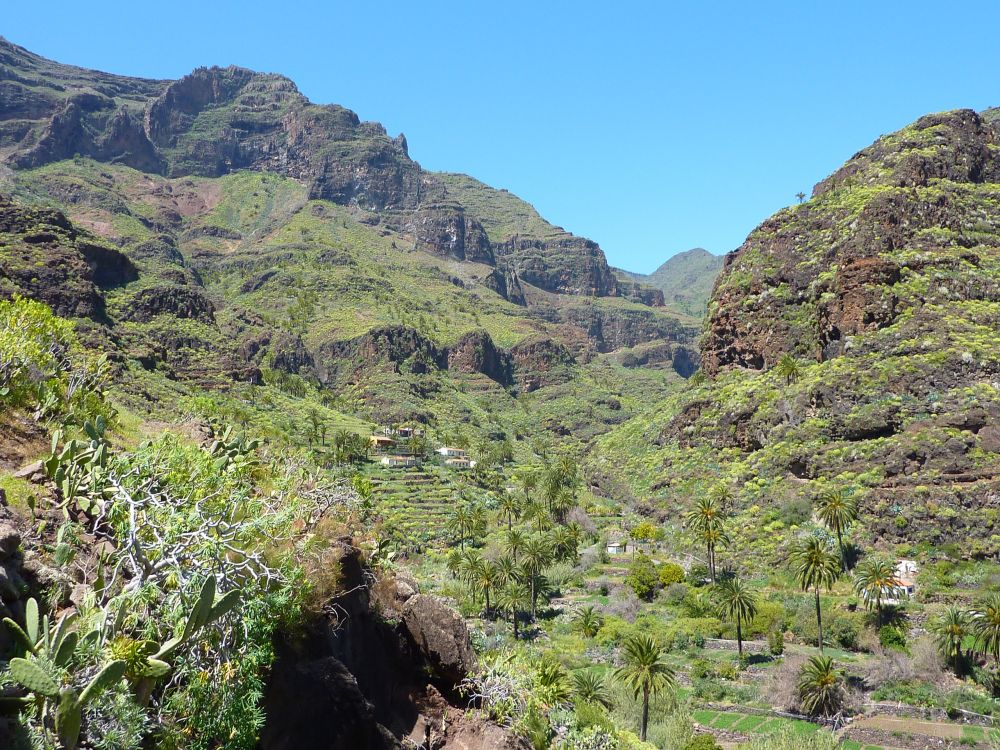 Photo de Barranco de Guarimiar aux Canaries, sur l'île de la Gomera