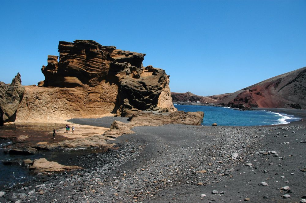 Photo d'une plage à Lanzarote aux Canaries