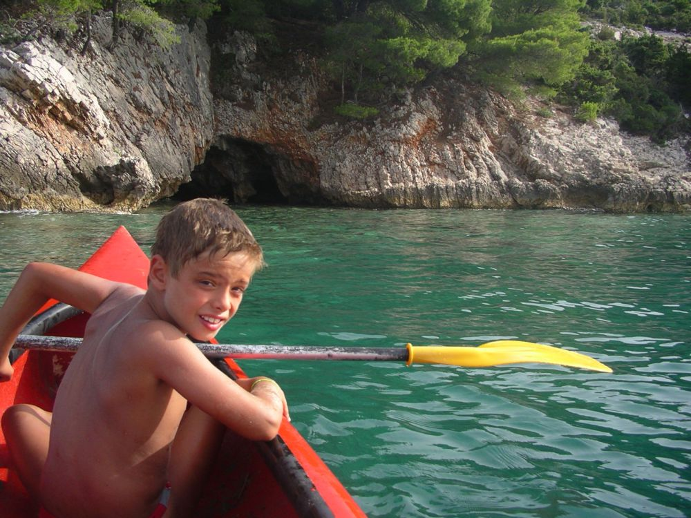 Photo d'une excursion kayak en Croatie