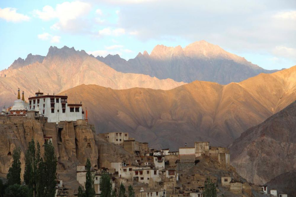 Photo des montagnes au Ladakh