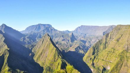 Photo du Cirque de Mafate à la Réunion